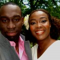 zwarte man en vrouw