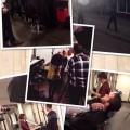 collage van een makeup shoot