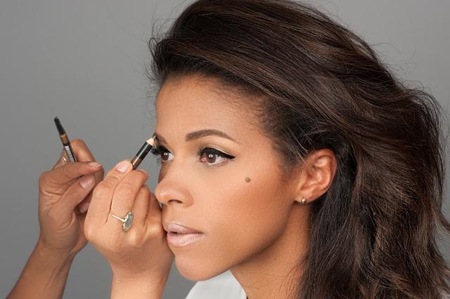 bijwerken makeup tijdens fotoshoot