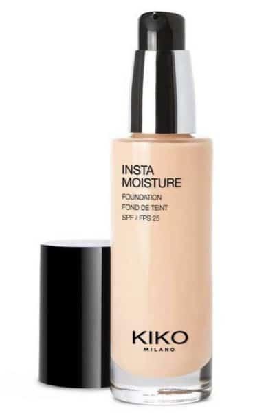 Kiko Cosmetics Instamoisture foundation dierproefvrij