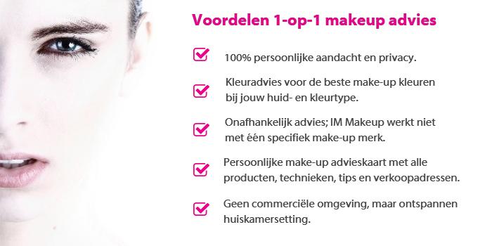 aanvraag makeup advies
